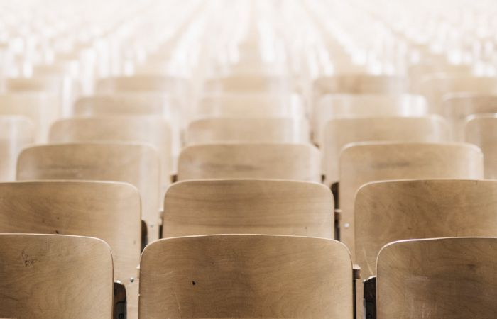 Lecture theatre chairs