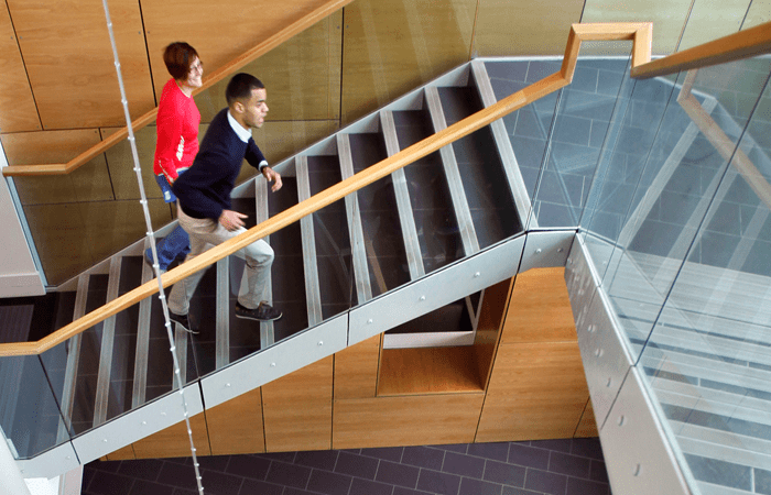 CMB stairwell image